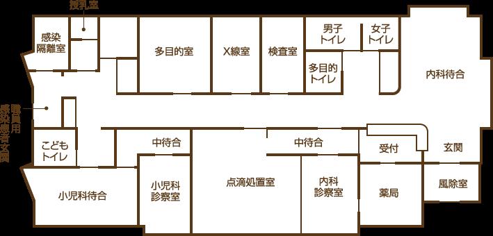 院内MAP画像