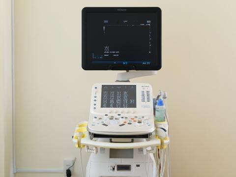 超音波検査機の写真