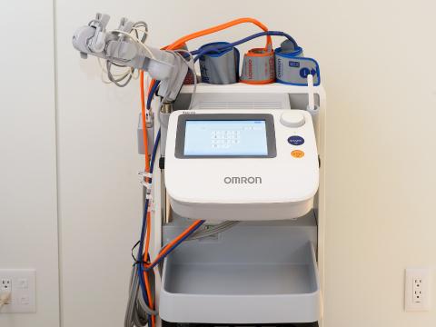 動脈硬化検査(ABI)の写真