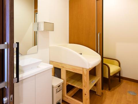 授乳室・オムツ替え台の写真