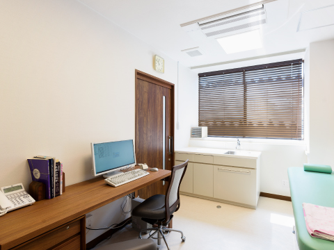 小児科診察室の写真