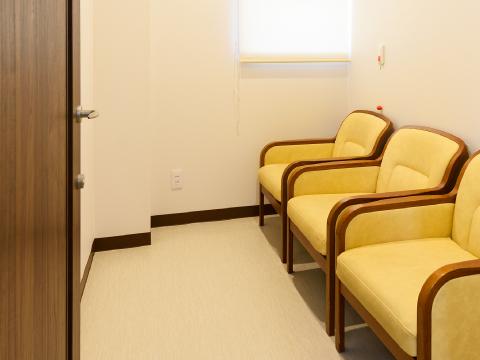 感染隔離室の写真