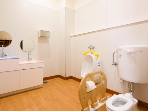 こどもトイレの写真